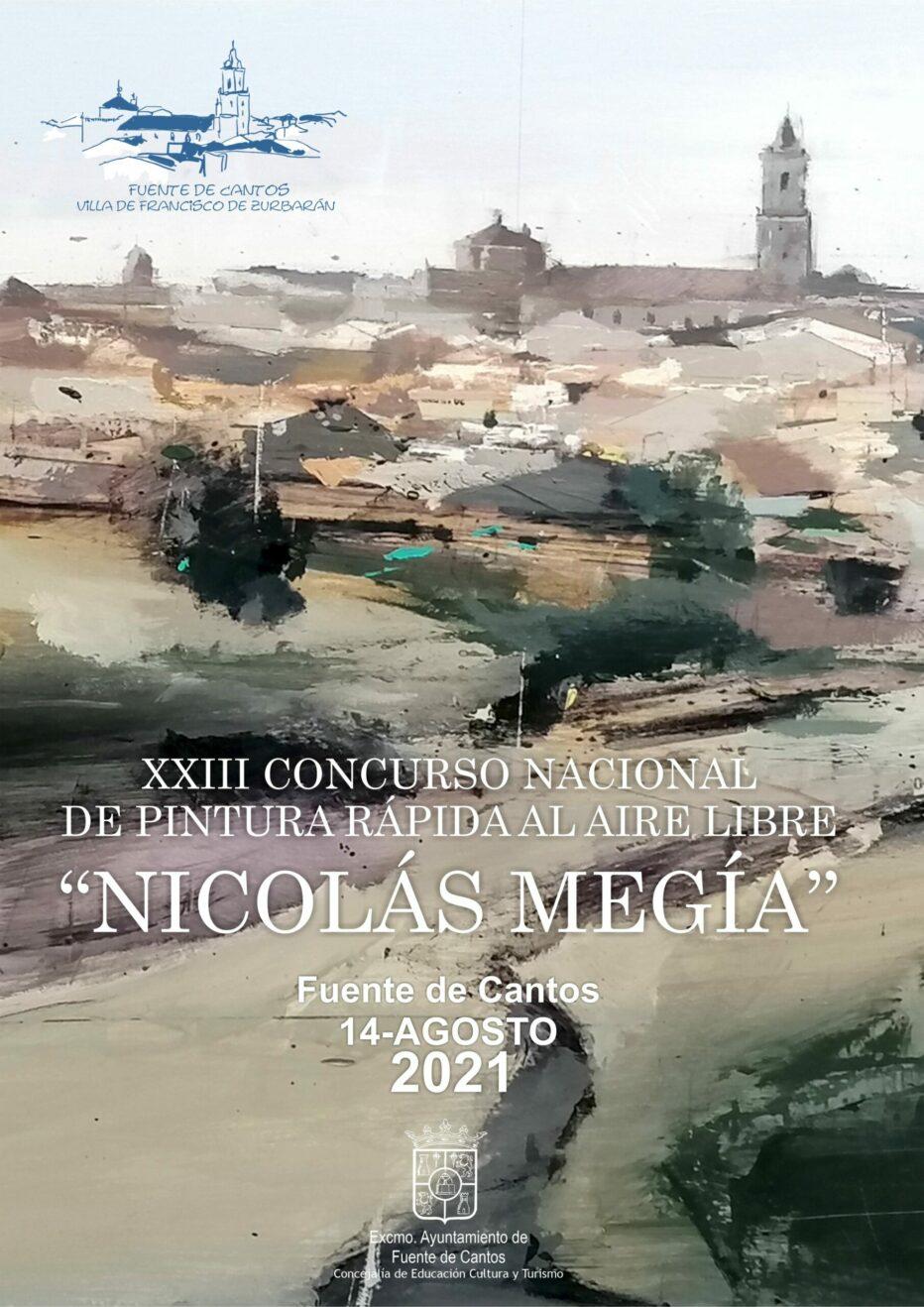 PREMIO DE PINTURA RÁPIDA AL AIRE LIBRE NICOLÁS MEGÍA 2021